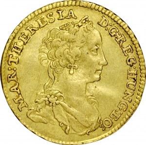 Transylwania, Maria Teresa 1740-1780, Dukat 1741, Gyulafehervar.