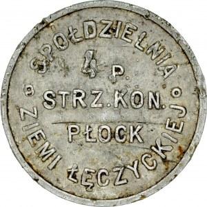 Złotówka, 4 Pułk Strzelców Konnych, Płock.