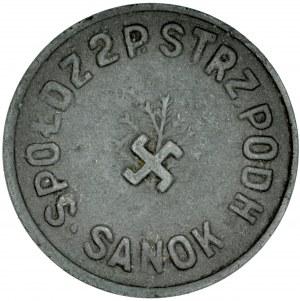 20 groszy, 2 Pułk Strzelców Podhalańskich, Sanok.