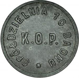 20 groszy, 10 Baon KOP, Krasne nad Orszą.