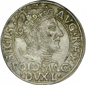 Zygmunt II August 1545-1572, Grosz na stopę polską 1547, Wilno.