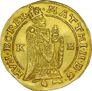 Węgry, Matthias 1608-1619, Dukat 1612, Kremnica.