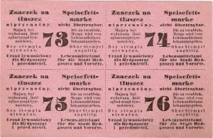 Karta żywnościowa, Bydgoszcz.