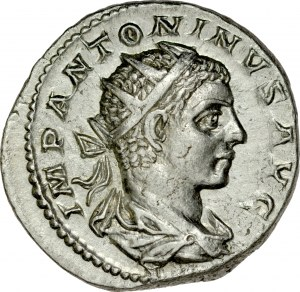 Antoninian, Elagabal 218-222.