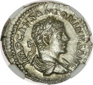 Denar, Elagabal 218-222.