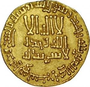 Dinar AH155, bez mennicy, al-Mansur AH 136-158.