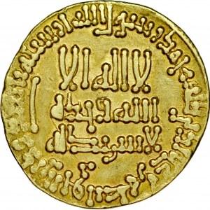 Dinar AH186, bez mennicy, Harun al-Rashid AH 170-193.
