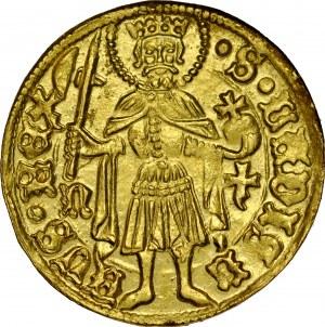Węgry, Matthias I Corvinus 1458-1490, Dukat, bez daty, Nagybanya.