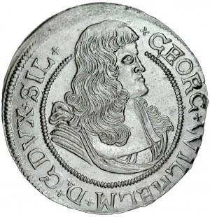 Śląsk, Księstwo Legnicko-Brzesko-Wołowskie, Jerzy Wilhelm 1673-1675, VI krajcarów 1674, Brzeg, RR.