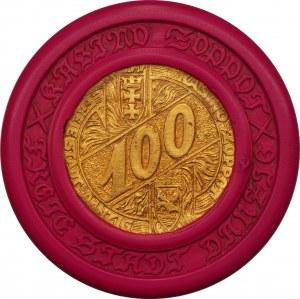 Wolne Miasto Gdańsk - SOPOT - Kasyno - żeton o nominale 100 - przed 1932 rok