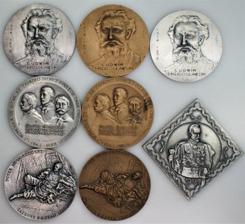 8 medali - PTAiN Lubin, Warszawa, Tarnobrzeg, Szczecin