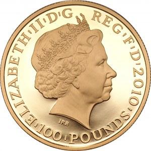 WIELKA BRYTANIA - 100 funtów 2010 - Igrzyska Olimpijskie Londyn 2012 - Neptune Citius