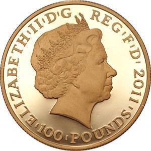 WIELKA BRYTANIA - 100 funtów 2011 - Igrzyska Olimpijskie Londyn 2012 - Jupiter Altius