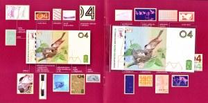 Banknot testowy PWPW - 04 Ptaszki wraz z folderem emisyjnym - AA 0009568
