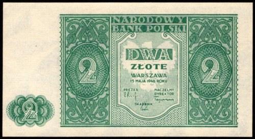 2 złote 1946 UNC
