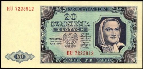 20 złotych 1948 - HU -