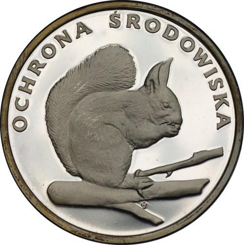Ochrona Środowiska - 500 złotych 1985 - WIEWIÓRKA