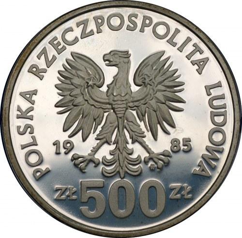 500 złotych 1985 - PRZEMYSŁAW II