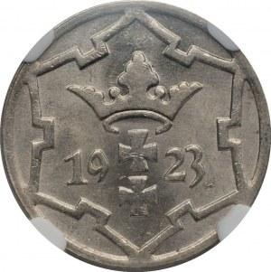 Wolne Miasto Gdańsk - 5 fenigów 1923 - NGC MS63