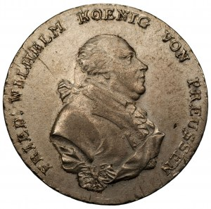 NIEMCY - Prusy - Fryderyk Wilhelm II - talar 1794 A Berlin