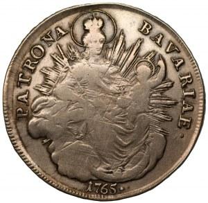 NIEMCY - Bawaria - Maksymilian III Józef - talar 1765 (A) Amberg