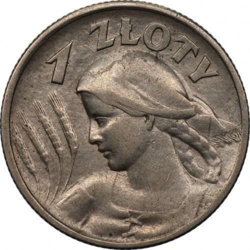 II RP - 1 złoty 1925 - Żniwiarka