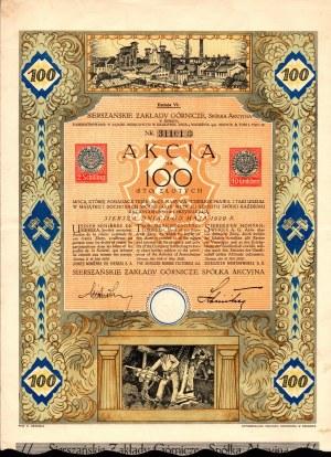 Sierszańskie Zakłady Górnicze - 100 złotych 1929 - Em. VI