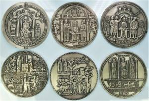 Zestaw Medali 6 szt. - Seria Królewska - Korski