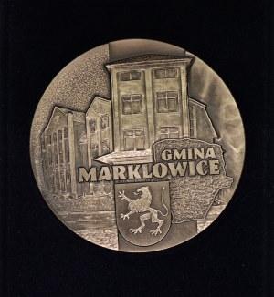 Medal - MEDAL LWA MARKLOWICKIEGO - medal dla prof. Bohdana Gruchmana