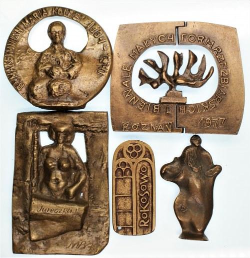 Zestaw 5 Medali 3D ciekawe i ładne wykonanie różna tematyka