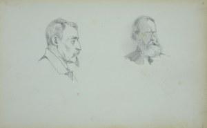 Stanisław Chlebowski (1835-1884), Dwie głowy męskie