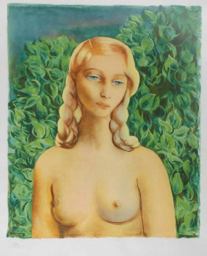 Mojżesz Kisling (1891 - 1953), Ewa (Ilustracja do: Jean Giono, Provence, Paris), 1954