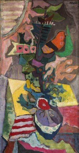 Kazimierz Podsadecki (1904 - 1970), Czerwony ptaszek, 1958
