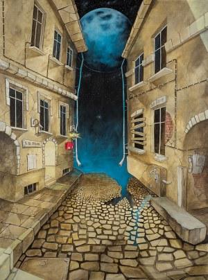 Dariusz Franciszek Różyc, Beyond the wall of sleep, 2019