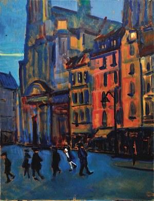 Mieczysław Lurczyński, Wieczór w Paryżu, lata 60. XX w.