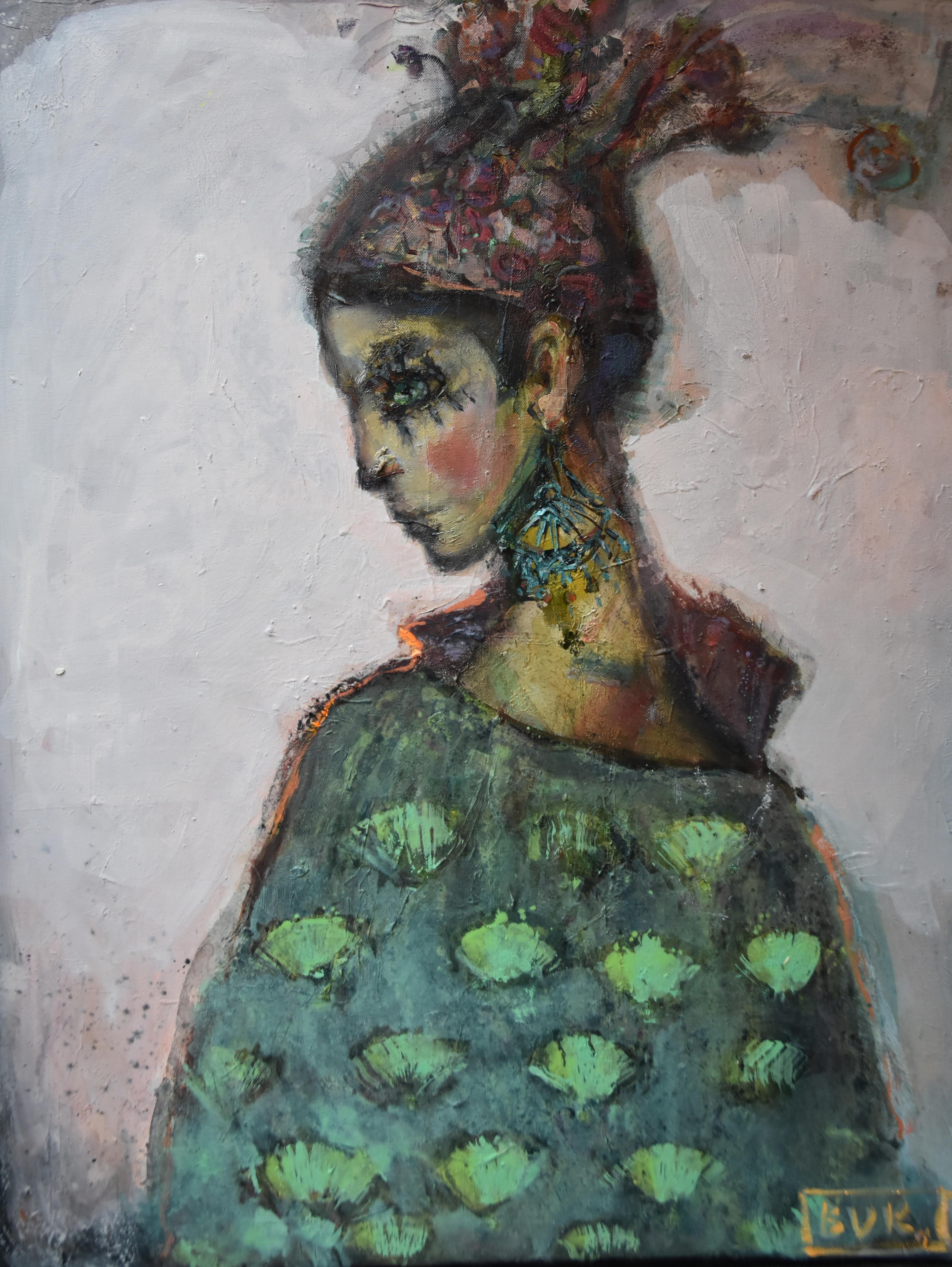 Olga Bukowska, Żar-ptica albo Rajski ptak, 2018 r.