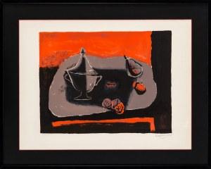 Henryk Hayden (1883 - 1970), Martwa natura czarna, 1968