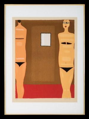 Jerzy Nowosielski (1923 - 2011), Kobiety z lustrem, 1997