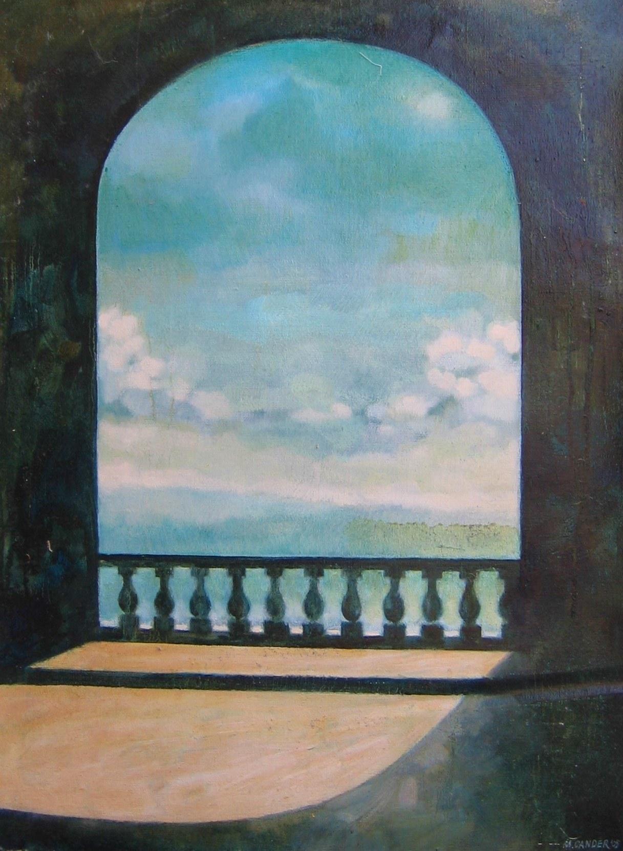 Michał Cander, Jak błękitu strop bez końca