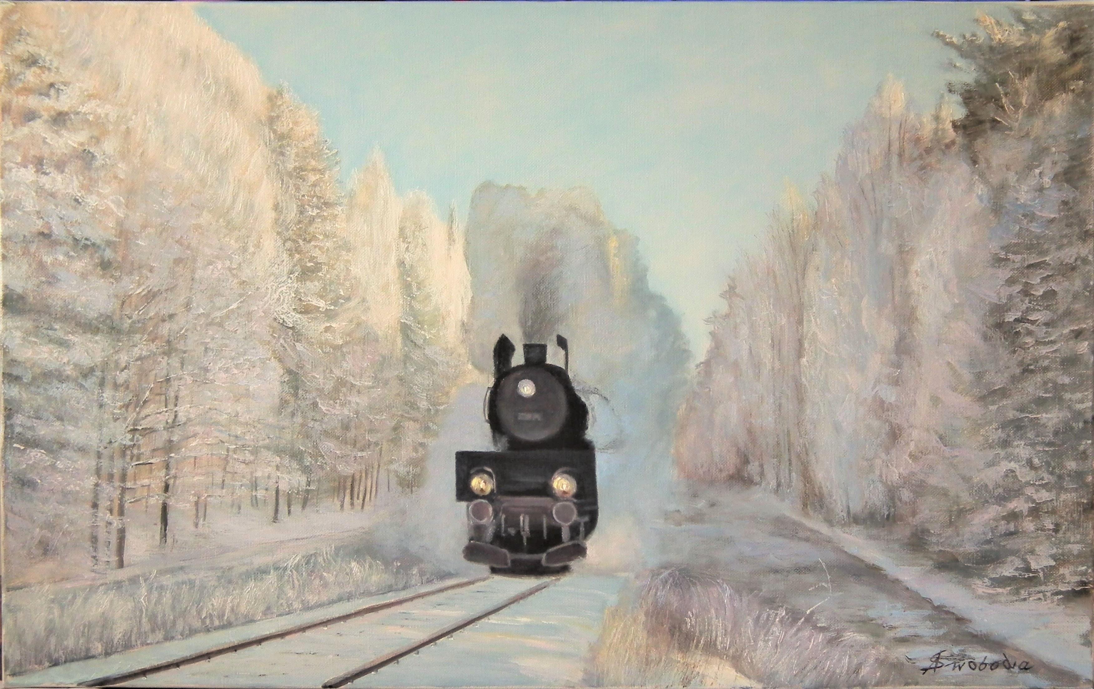 Adam Swoboda, Zimowy pociąg