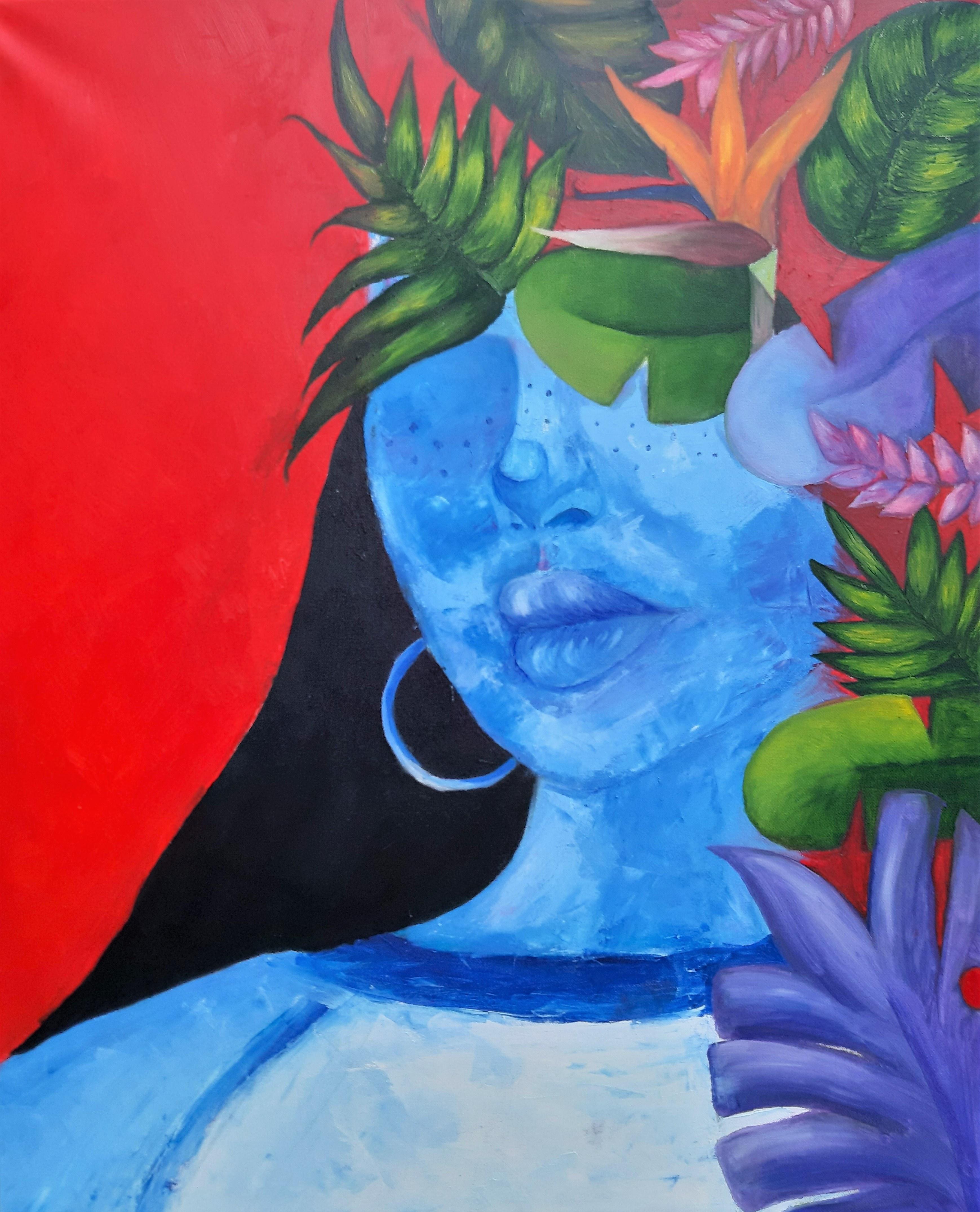 Diana Godna, Blue girl