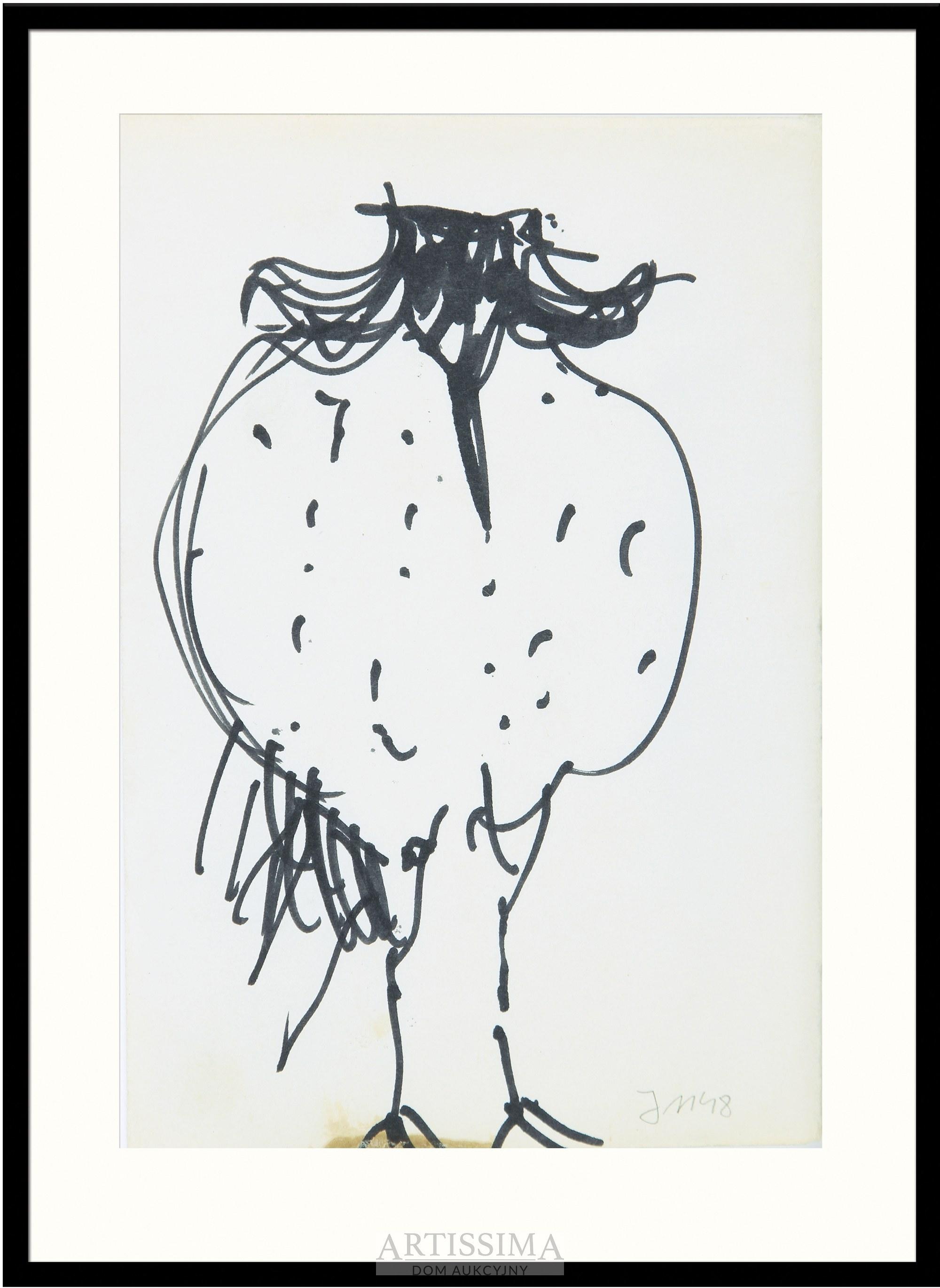 Barbara Jonscher (1926–1986), Puchaty ptak*