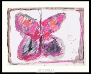 Barbara Jonscher (1926–1986), Różowy motyl*