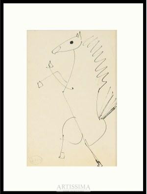 Barbara Jonscher (1926–1986), Praca dwustronna – dwa konie*