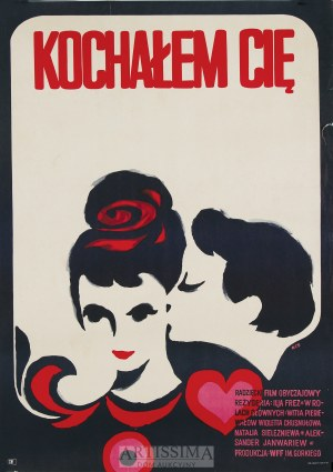 Witold Chmielewski (ur. 1949), Plakat filmowy Kochałem Cię