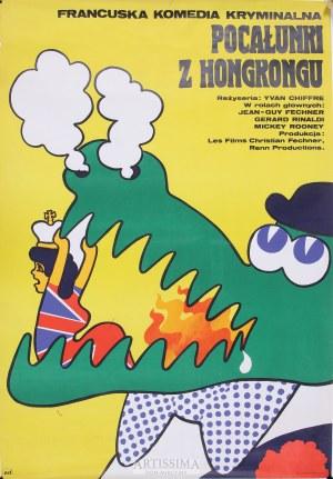Maciej Żbikowski (ur. 1935), Plakat filmowy Pocałunki z Hong Kongu, 1977