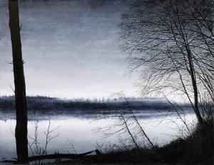 Rafał Borcz (ur. 1973) - Noc w zatoce, 2019