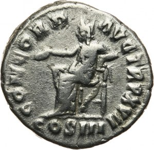 Cesarstwo rzymskie, Marek Aureliusz 161-180, denar 162-163, Rzym
