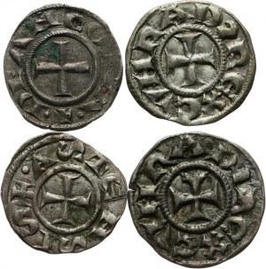 Włochy, lot denarów. XI - XIII wiek.