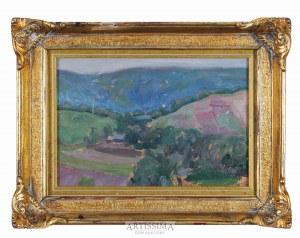 Jerzy Karszniewicz (1878–1945), Pejzaż letni z górami